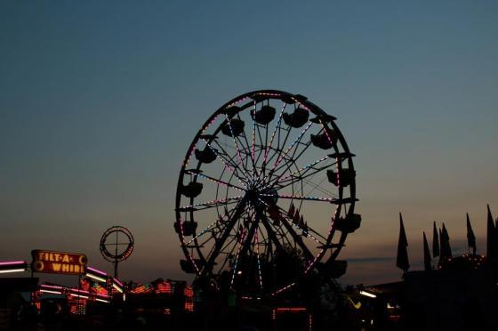 Ferris Wheel and Tilt A Whirl