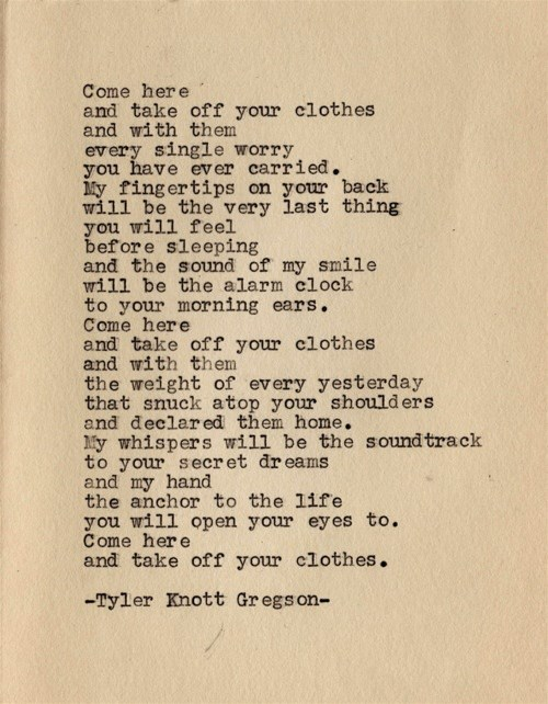 Quoteful Thursday-Tyler Knott Gregson